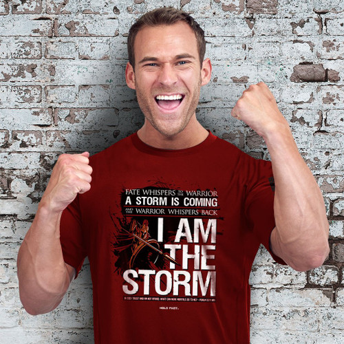 """I Am The Storm"" Faith T-Shirt"