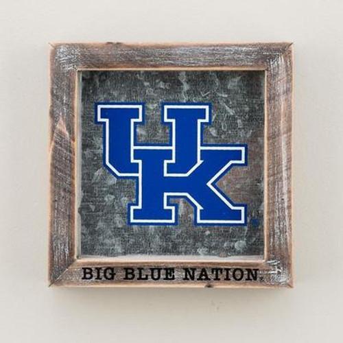 KY Big Blue Nation Table Plaque