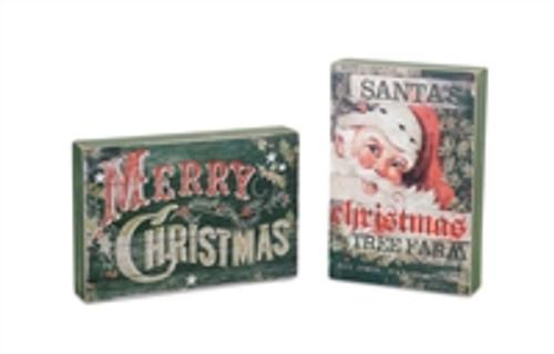 Holiday Sitting Sign sold individually