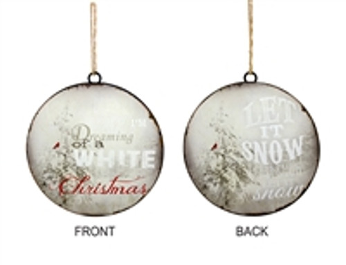 Fun and beautiful ornaments for your tree, wreath or to give as a gift.