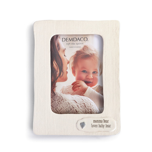 Momma Bear Loves Baby Bear Frame hold 4x6 photo