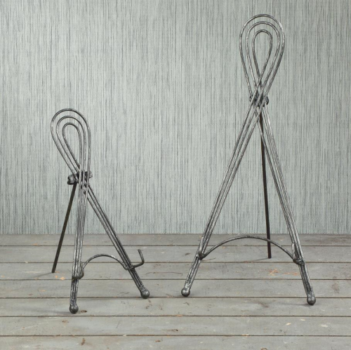 "12"" Metal Triple Wire Easel Small"