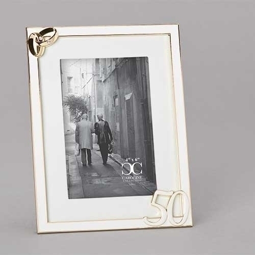 50th Wedding Bands Frame by Roman