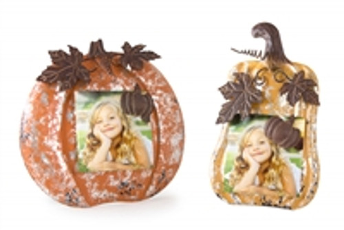 "The 8"" is the one on the left pictured. We also carry the 7"" please check our website for pumpkin memo holder 7"""