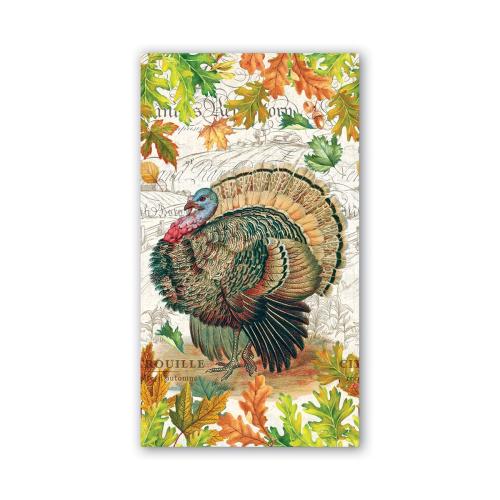 Fall Harvest Turkey Hostess Napkins