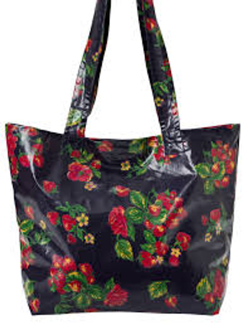 Strawberry Oil Market Bag by April Cornell