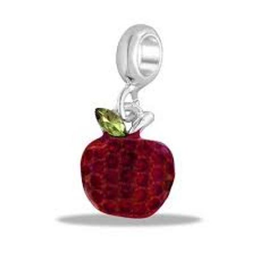 Apple Dangle Bead DB92-11