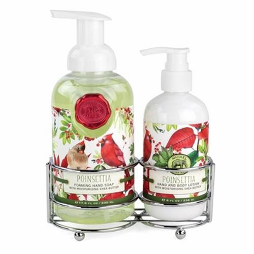 Poinsettia Handcare Foaming Soap w/Lotion