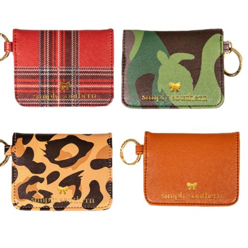 Leather Butterfly Mini Wallet
