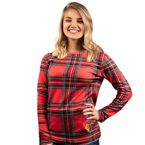 Waffle Top Sweater