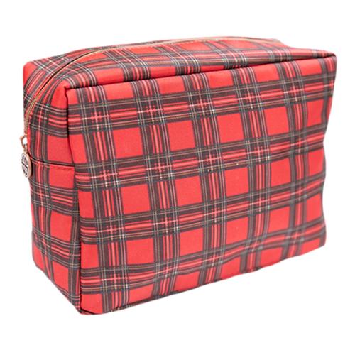 Cosmetic Bag Tartan