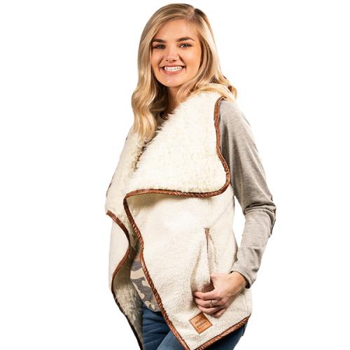 Sherpa Vest Cream