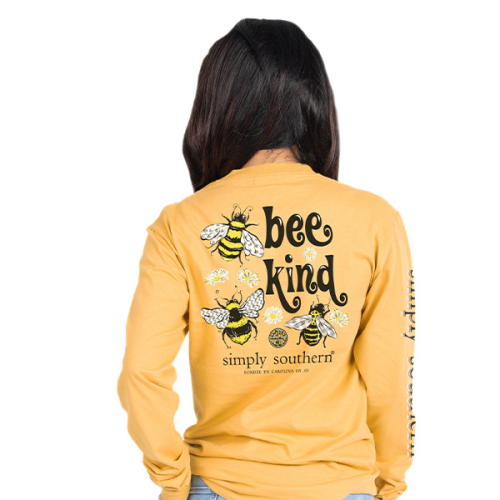 Bee Kind Mustard LS M