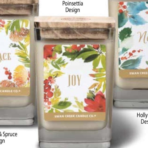 Joy Candles Home for the Holidays
