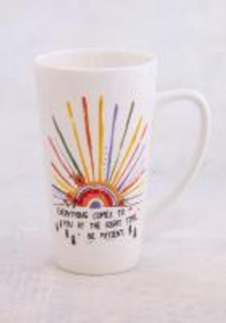 Latte Mug Everything Comes to