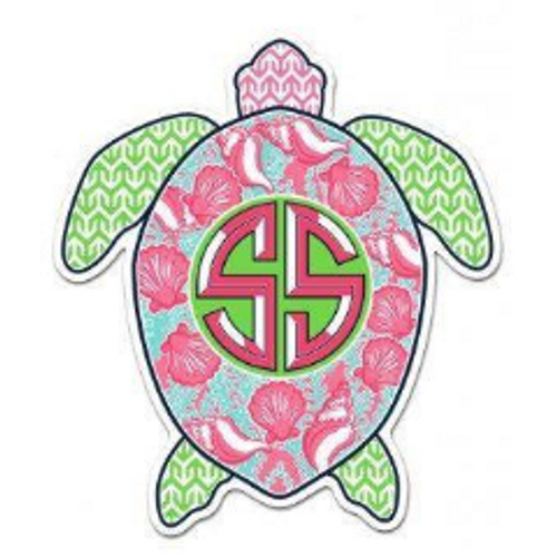 Simply Southern Turtle Decal