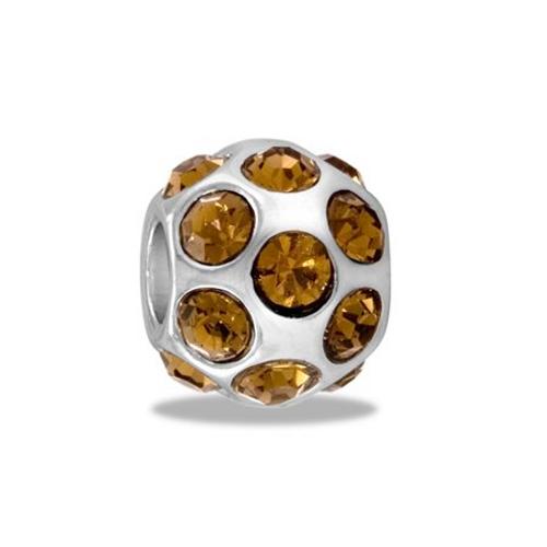 Amber Crystal Globe DB52-5