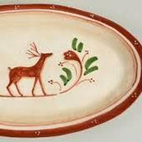 Renna Small Oval Platter