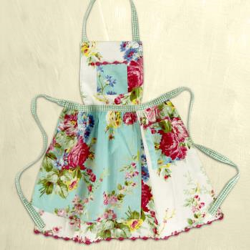 Printemps Patchwork Apron Kids