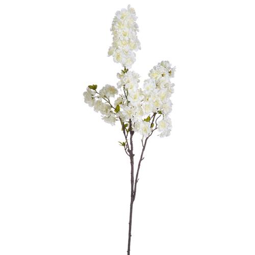 """42"""" White Cherry Blossom Spray"""