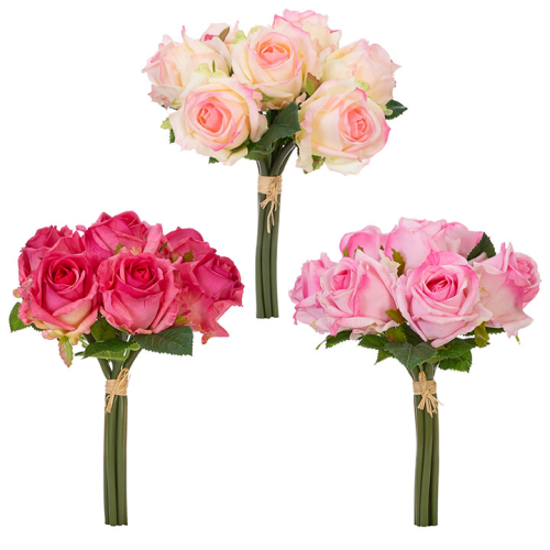"""12"""" Real Touch Rose Bundle"""