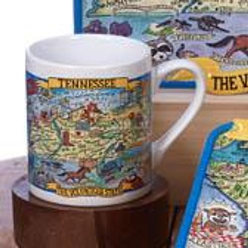 Tennessee Souvenir Jumbo Mug