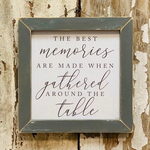 The Best Memories Wall Plaque