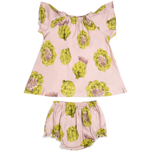 Dress Set Artichoke 6-12 months