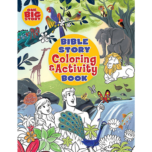 Bible Story Coloring/Activity B