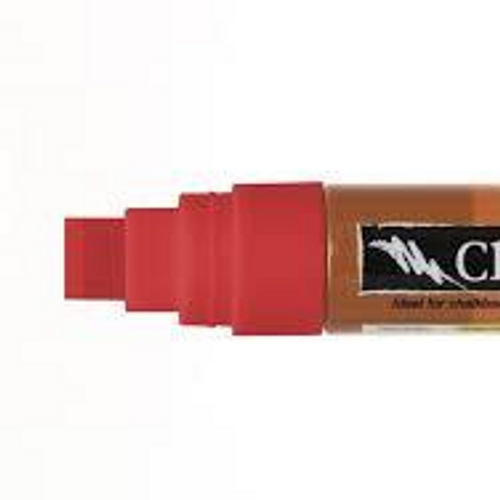 Clown Nose Red Chalk - 1 large 15mm pen