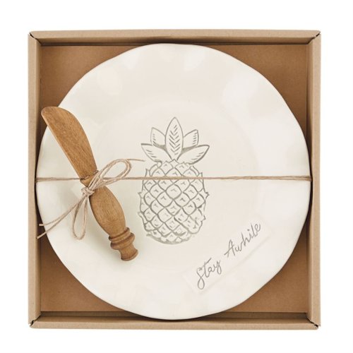 Ruffle Pineapple Cheese Set