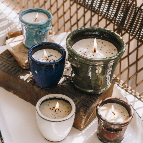 Cambria Small Pot Candles