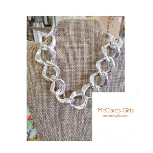 Diamond Link Chain Necklace