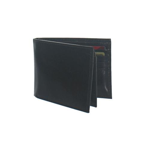 Italian Leather RFID Secure Flip-Up Bi-Fold