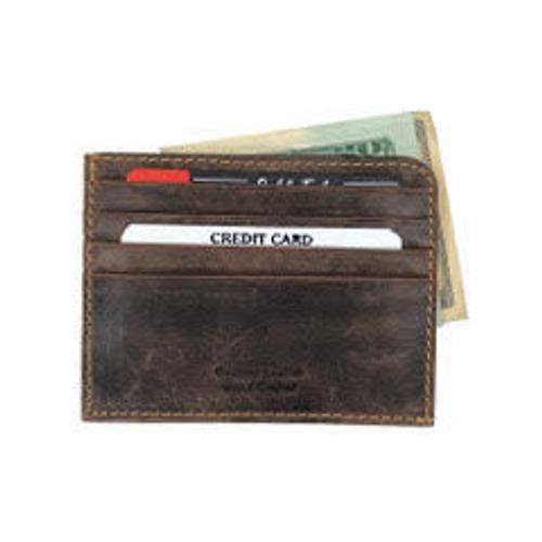 Hunter Leather Slim Front Pocket Wallet/Money Clip