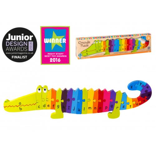 Crocodile Alphabet Puzzle