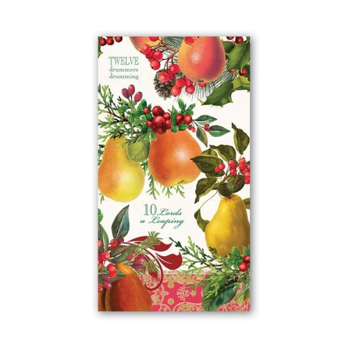 In a Pear Tree Hostess Napkin