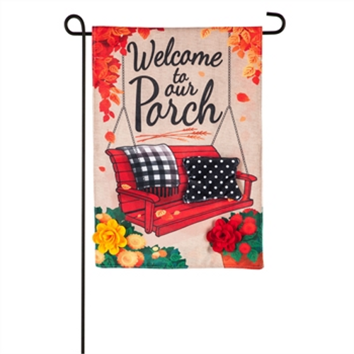 Fall Porch Welcome Flag