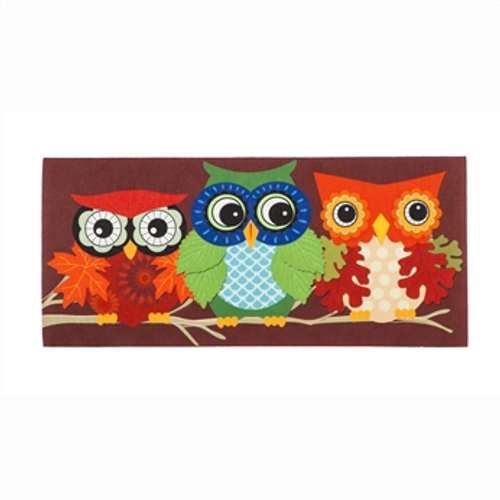 Autumn Owls Sassafras Switch Mat