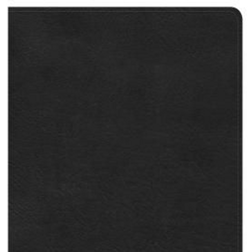 NKJV Large Print Personal Size Reference Bible, Black LeatherTouch, Indexed