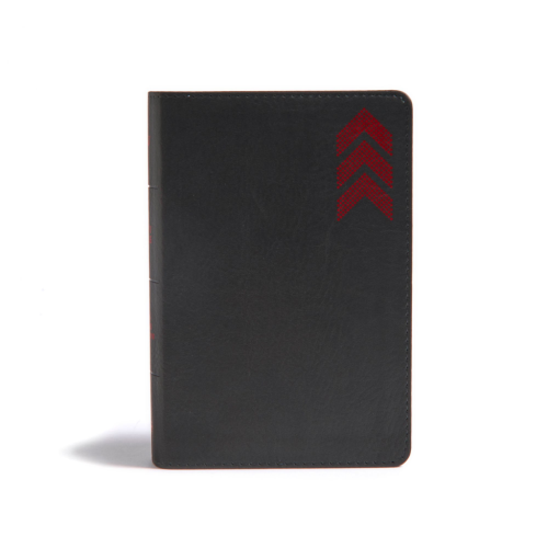 KJV On-the-Go Bible, Charcoal Arrow