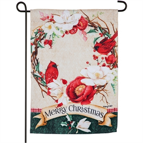 Southern Holiday Charm Garden Flag