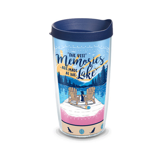 Simply Southern® - Memories at the Lake 16 oz. Tumbler with lid