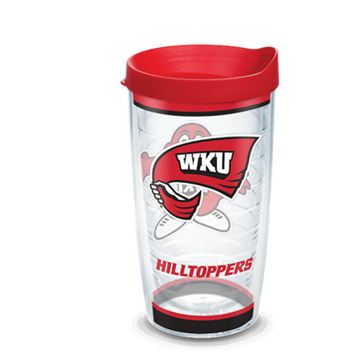 Western Kentucky Hilltoppers Tradition Wrap With Travel Lid 16 oz.
