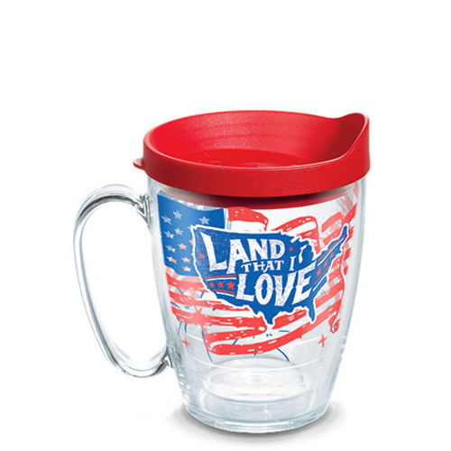 Land That I Love Wrap With Travel Lid 16oz mug