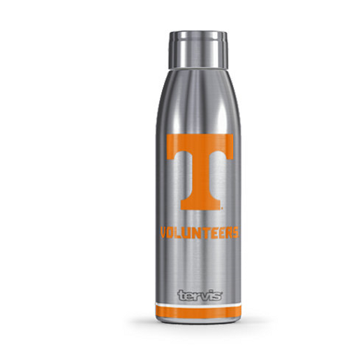Tennessee Volunteers Tradition Stainless Steel Slim Bottle With Lid 17oz.