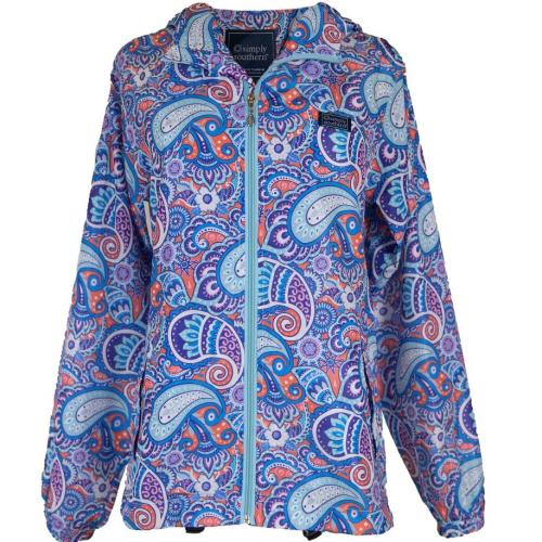Paisley Rainzip Jacket