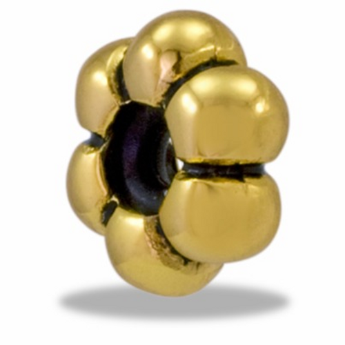 Gold Flower Stopper