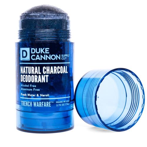 Natural Charcoal Deodorant Fresh Water and Neroli