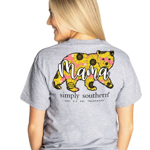 Simply Southern Mama Bear with Sunflowers